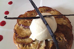 tarte 224 l aubergine p 226 te de figues et glace vanille